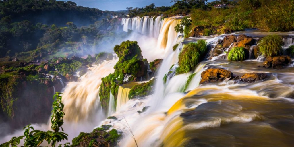 Las cataratas del lado brasilero ya abrieron