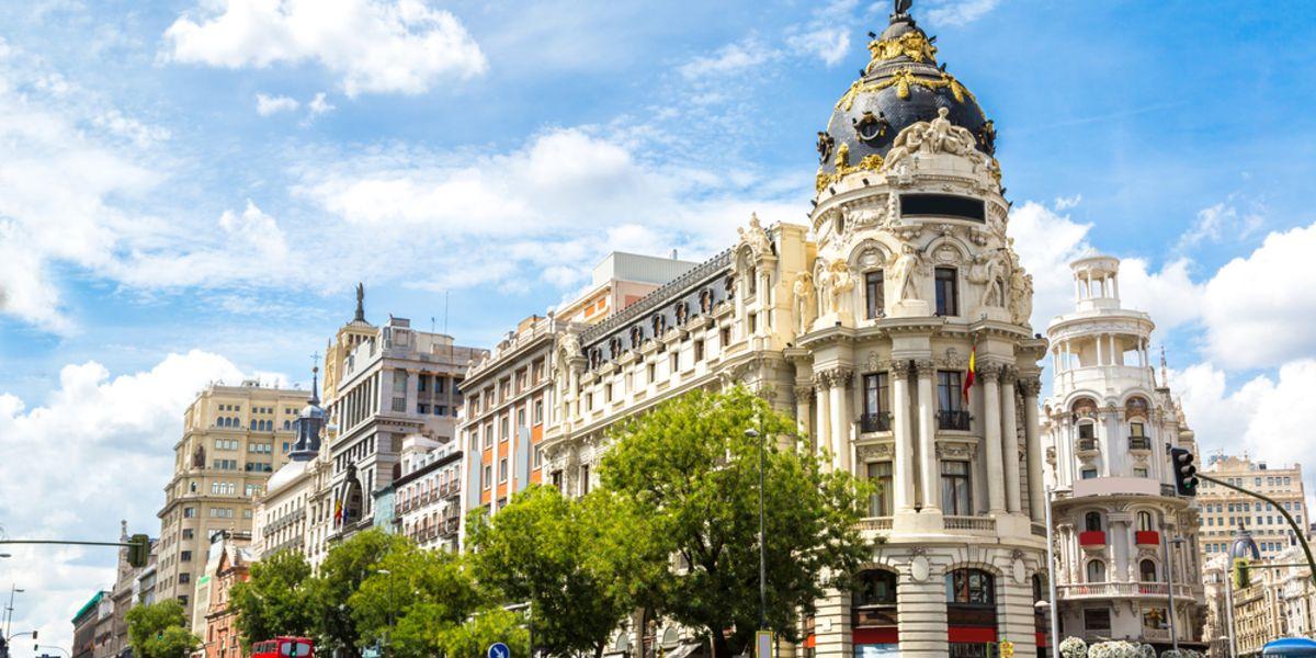 Vuelos a Madrid a partir de AR$ 26.407 (U$D 574) desde Buenos Aires
