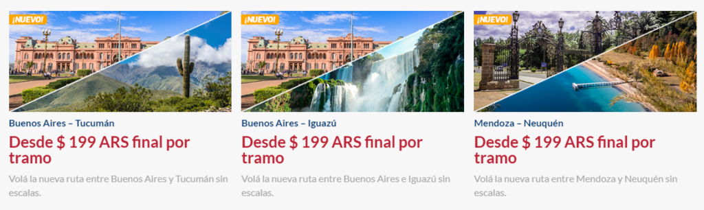 Hot Sale: vuelos nacionales low-cost