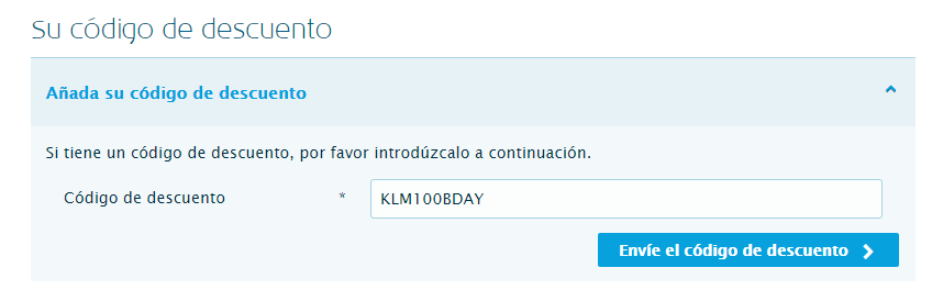 Descuento en vuelos a Europa con KLM
