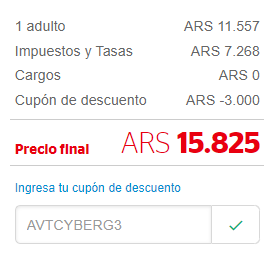 Cyber Monday Brasil desde Buenos Aires