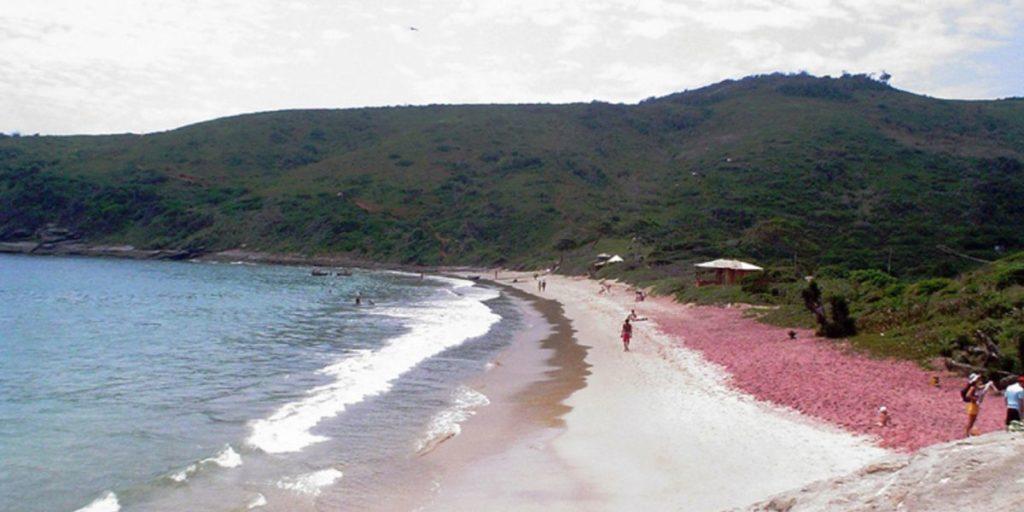 Brava Beach la Playa de Arena Rosa en Búzios